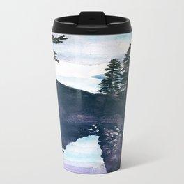 Reflections Watercolor Travel Mug