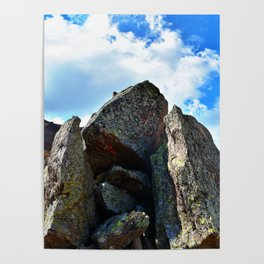 Mountain Landscape Panorama Poster