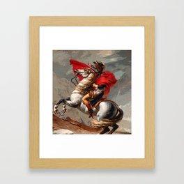 Naposaurus Framed Art Print