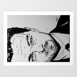 DiCaprio Art Print