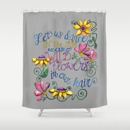 Let Us Dance II Shower Curtain