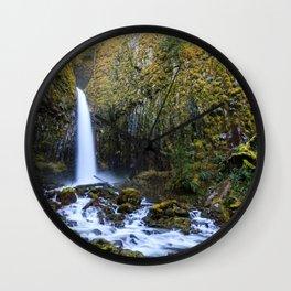 Dry Creek Falls Wall Clock