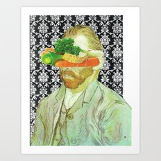 In Vincent´s Face · 2 Art Print