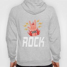 Hand Horns Rock Band graphics for Men Women Kids Hoody