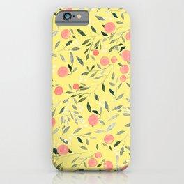 Peach Mania iPhone Case
