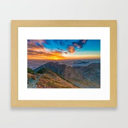 Northern Alps I Framed Art Print