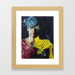 SideKick Framed Art Print
