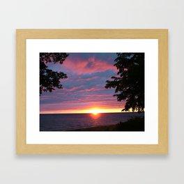 Sunset Pic 1 Framed Art Print