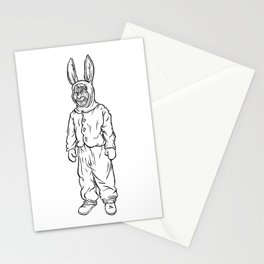 Rotten rabbit Stationery Cards