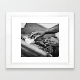 The Dip Framed Art Print