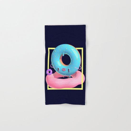 Donuts Hand & Bath Towel