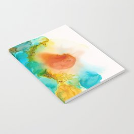 Anatomical Heart Abstract Notebook