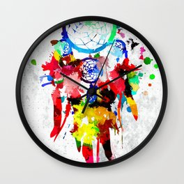 Dreamcatcher Wall Clock