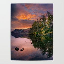 By the Lake Side Poster
