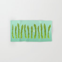 Asparagus Say Hi! Hand & Bath Towel