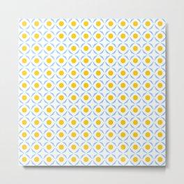 symmetric patterns 116 – polka dot Metal Print