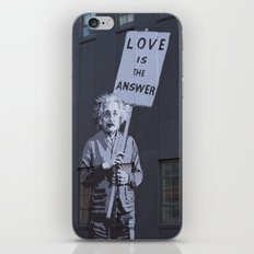 Love is the Answer iPhone Skin