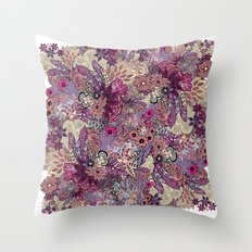 Vernal rising Throw Pillow