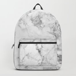 Gray Marble Background Backpack