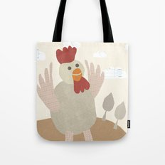 rooster collage Tote Bag