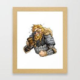 Pikel Bouldershoulder Framed Art Print