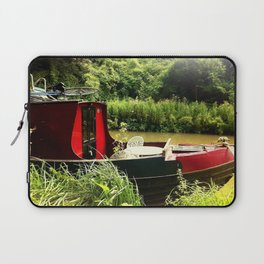 At Home on the Avon Laptop Sleeve