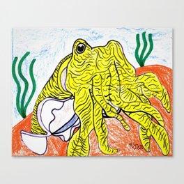 Pharaoh Cuttlefish Canvas Print