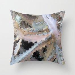 Ghost Cactus Throw Pillow
