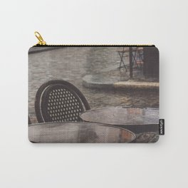 Postcard from Montmartre. Rainy afternoons in Parisian cafes. Paris photography. Carry-All Pouch