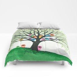 Shasta Owls in Tree Comforters
