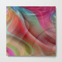 Multicolored abstract no. 42 Metal Print