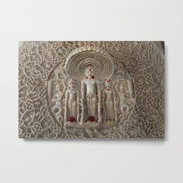 Ranakpur - India - Buddha Metal Print