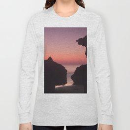 Roche Reefs At Sunset. Long Sleeve T-shirt