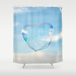 Bubble Shower Curtain