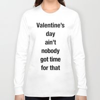 valentines Long Sleeve T-shirts featuring Valentines by loveme