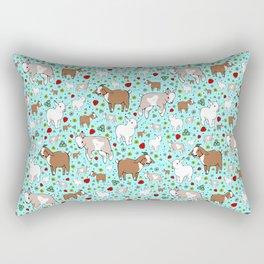 Cute Goats Rectangular Pillow
