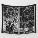 The Sun and Moon Tarot Cards | Obsidian & Pearl by danieljohndesign