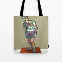 ali Tote Bags featuring ali by blibre