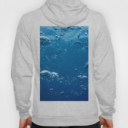 Abstract Bubbles in Water, Air Bubbles Water Background Hoody