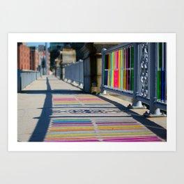 Shimmers Art Print