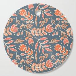 Loquacious Floral Cutting Board
