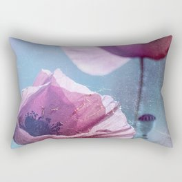 Poppy Spinning Rectangular Pillow