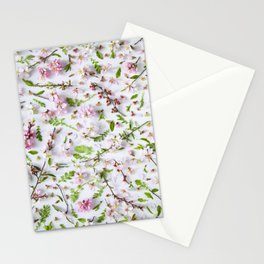 Leaves and flowers pattern (26) Stationery Cards