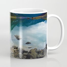 Reflections in Medicine Lake in Jasper National Park, Canada Coffee Mug