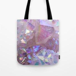 Pink Aura Crystals Tote Bag