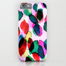 Rainbow Drizzle Jewel iPhone Case