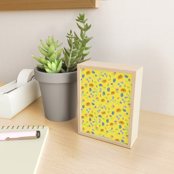 Flowers-Perennials Framed Mini Art Print