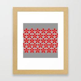 crvena Framed Art Print