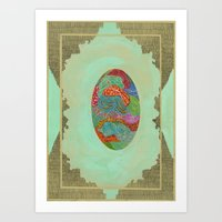 The Qalam Series: Fabric Miniature Art Print
