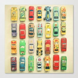 Car Park Canvas Print
